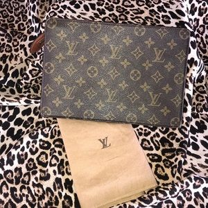 CERTIFIED AUTHENTIC LV Monogram Homme Clutch
